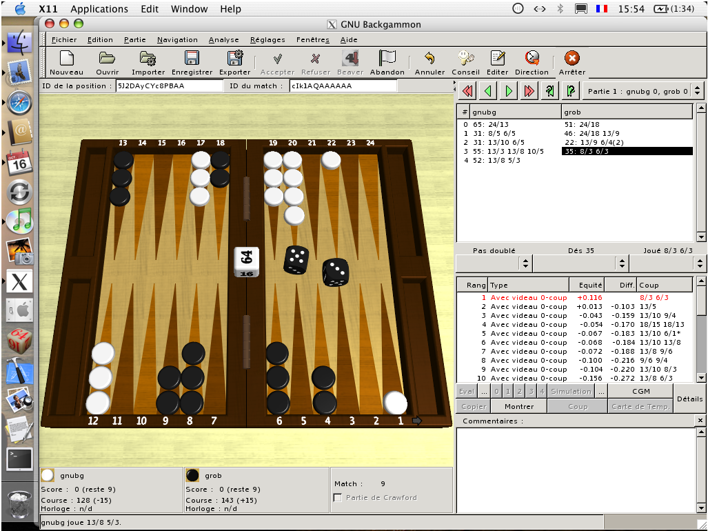 GNU Backgammon Download