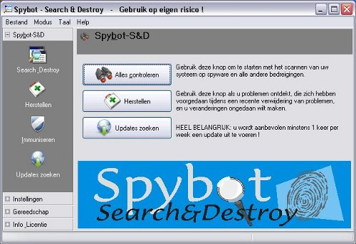 Spybot - Search & Destroy Download